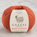Gazzal Baby Cotton Knitting Yarn, Cinnamon - 3454