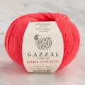 Gazzal Baby Cotton Knitting Yarn, Fuchsia - 3458