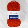 Yarnart Merino Bulky Yarn, Brick - 3027
