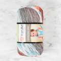 YarnArt Dancing Baby Knitting Yarn, Variegated - 827