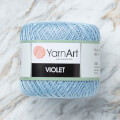 Yarnart Violet Yarn, Light Blue - 4917