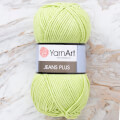 Yarnart Jeans Plus Yarn, Lime Green - 11