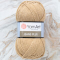 Yarnart Jeans Plus Yarn, Dark Beige - 48