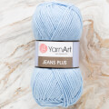 Yarnart Jeans Plus Yarn, Baby Blue - 75
