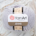 Yarnart Jeans Yarn, Grey - 80