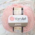 Yarnart Jeans Yarn, Pinkish White - 83