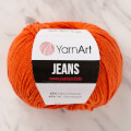 Yarnart Jeans Yarn, Orange - 85
