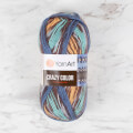 YarnArt Crazy Color Knitting Yarn, Variegated - 175