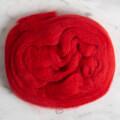 Kartopu Kırmızı Yün Keçe - K125
