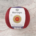 Kartopu Fine Crochet Bordo El Örgü İpi - K1105