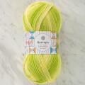 Kartopu Lulla Baby Yeşil Ebruli El Örgü İpi - H2397