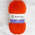 Kartopu Ak-soft Turuncu El Örgü İpi - K237