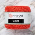 Yarnart Violet Nar Çiçeği Dantel İpi - 4910