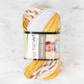YarnArt Dancing Baby Knitting Yarn, Variegated - 825