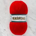 Örenbayan Kristal Kırmızı El Örgü İpliği - 033