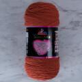 Himalaya Süper Soft Yarn 200 Gr Kiremit El Örgü İpi - 80817