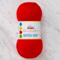 Himalaya Medical Baby Kırmızı El Örgü İpi - 79233