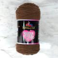 Himalaya Süper Soft Yarn 200 Gr Kahverengi El Örgü İpi - 80846
