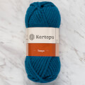 Kartopu Tempo Super Bulky Knitting Yarn, Petrol Blue - K1467