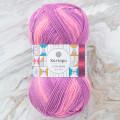 Kartopu Lulla Baby Mor Ebruli El Örgü İpi - H2322