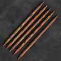 KnitPro Symfonie 7 mm 20 cm Ahşap 5'li Çorap Şişi - 20116