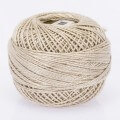 Madame Tricote Paris Koton Perle No:8 Embroidery Thread, Light Beige - 388