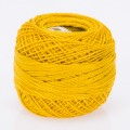 Madame Tricote Paris Koton Perle No:8 Embroidery Thread, Mustard Yellow - 613