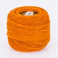 Madame Tricote Paris Koton Perle No:8 Embroidery Thread, Dark Orange - 4007