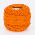 Madame Tricote Paris Koton Perle No:8 Embroidery Thread, Dark Orange - 143