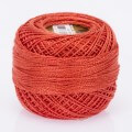 Madame Tricote Paris Koton Perle No:8 Embroidery Thread, Red - 516