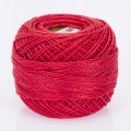 Madame Tricote Paris Koton Perle No:8 Embroidery Thread, Dark Red - 108