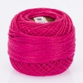 Madame Tricote Paris Koton Perle No:8 Embroidery Thread, Dark Pink - 462