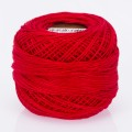 Madame Tricote Paris Koton Perle No:8 Embroidery Thread, Red - 76