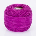 Madame Tricote Paris Koton Perle No:8 Embroidery Thread, Dark Pink - 47