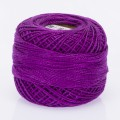 Madame Tricote Paris Koton Perle No:8 Embroidery Thread, Purple - 766