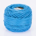 Madame Tricote Paris Koton Perle No:8 Embroidery Thread, Baby Blue - 542