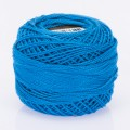 Madame Tricote Paris Koton Perle No:8 Embroidery Thread, Blue - 544