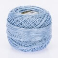 Madame Tricote Paris Koton Perle No:8 Embroidery Thread, Light Blue - 550
