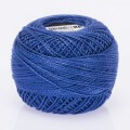Madame Tricote Paris Koton Perle No:8 Embroidery Thread, Blue - 417