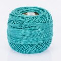 Madame Tricote Paris Koton Perle No:8 Embroidery Thread, Turquoise - 630