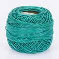 Madame Tricote Paris Koton Perle No:8 Embroidery Thread, Dull Turquoise - 722