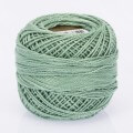 Madame Tricote Paris Koton Perle No:8 Embroidery Thread, Seaweed Green - 4014