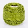 Madame Tricote Paris Koton Perle No:8 Embroidery Thread, Yellow Green - 4004