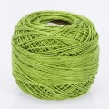 Madame Tricote Paris Koton Perle No:8 Embroidery Thread, Lemon Green - 671