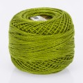 Madame Tricote Paris Koton Perle No:8 Embroidery Thread, Yellow Green - 68