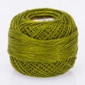 Madame Tricote Paris Koton Perle No:8 Embroidery Thread, Green - 55