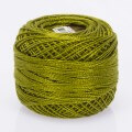 Madame Tricote Paris Koton Perle No:8 Embroidery Thread, Green - 890