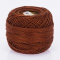Orenbayan Koton Perle No:8 Embroidery Thread, Brown - 4008