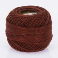 Orenbayan Koton Perle No:8 Embroidery Thread, Dark Brown - 4061