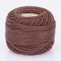 Orenbayan Koton Perle No:8 Embroidery Thread, Brown - 4021
